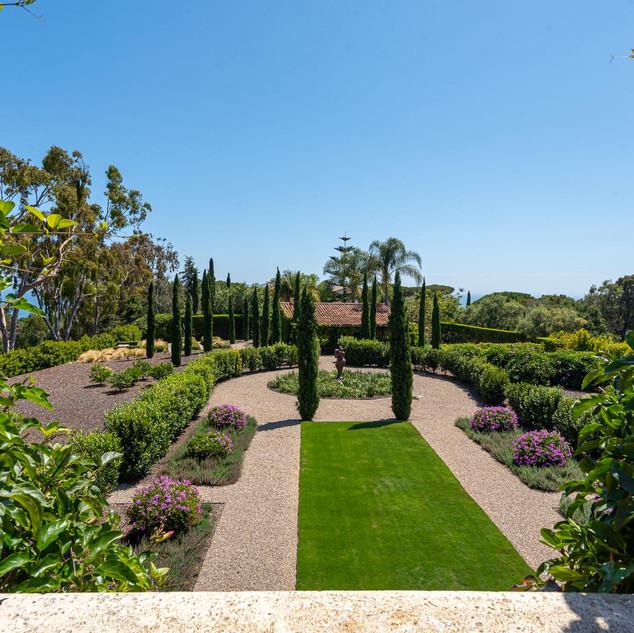 Garden Views from Master Balcony