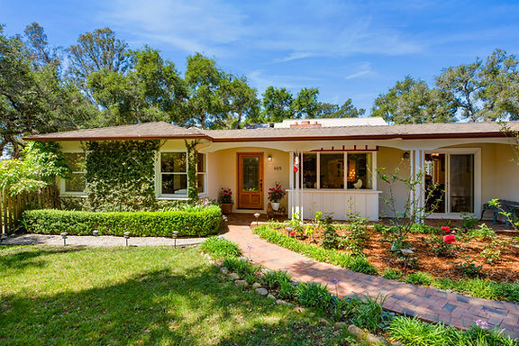 Newly Listed Revitalized Montecito Cottage