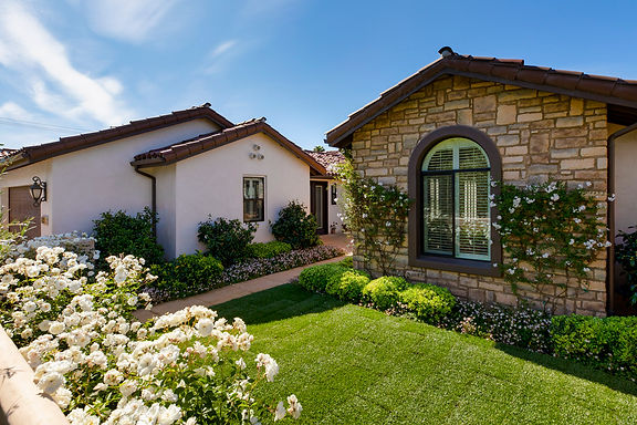 New Santa Barbara Style Home
