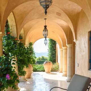 Three Pointed Arched Hallway