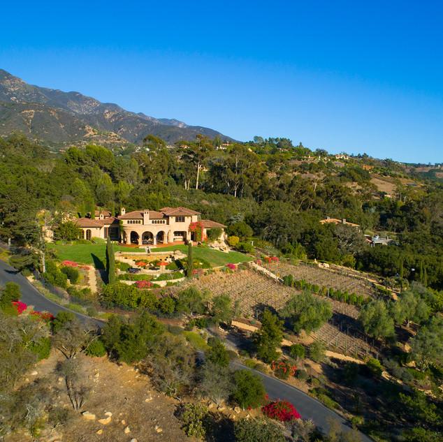 Villa Raphael   620 Cima Vista Lane   Montecito, CA