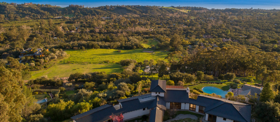 JUST LISTED: 4.5-Acre Ocean View Estate in Montecito