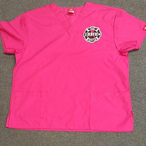 Pink Scrub Tops - UNISEX