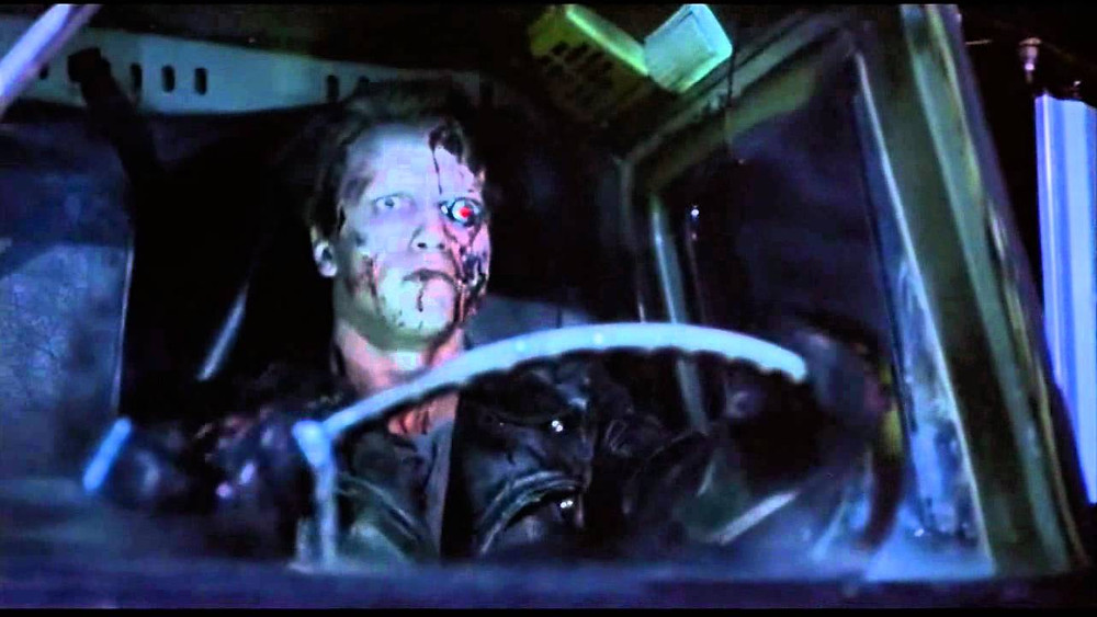 Terminator Screenshot driving truck
