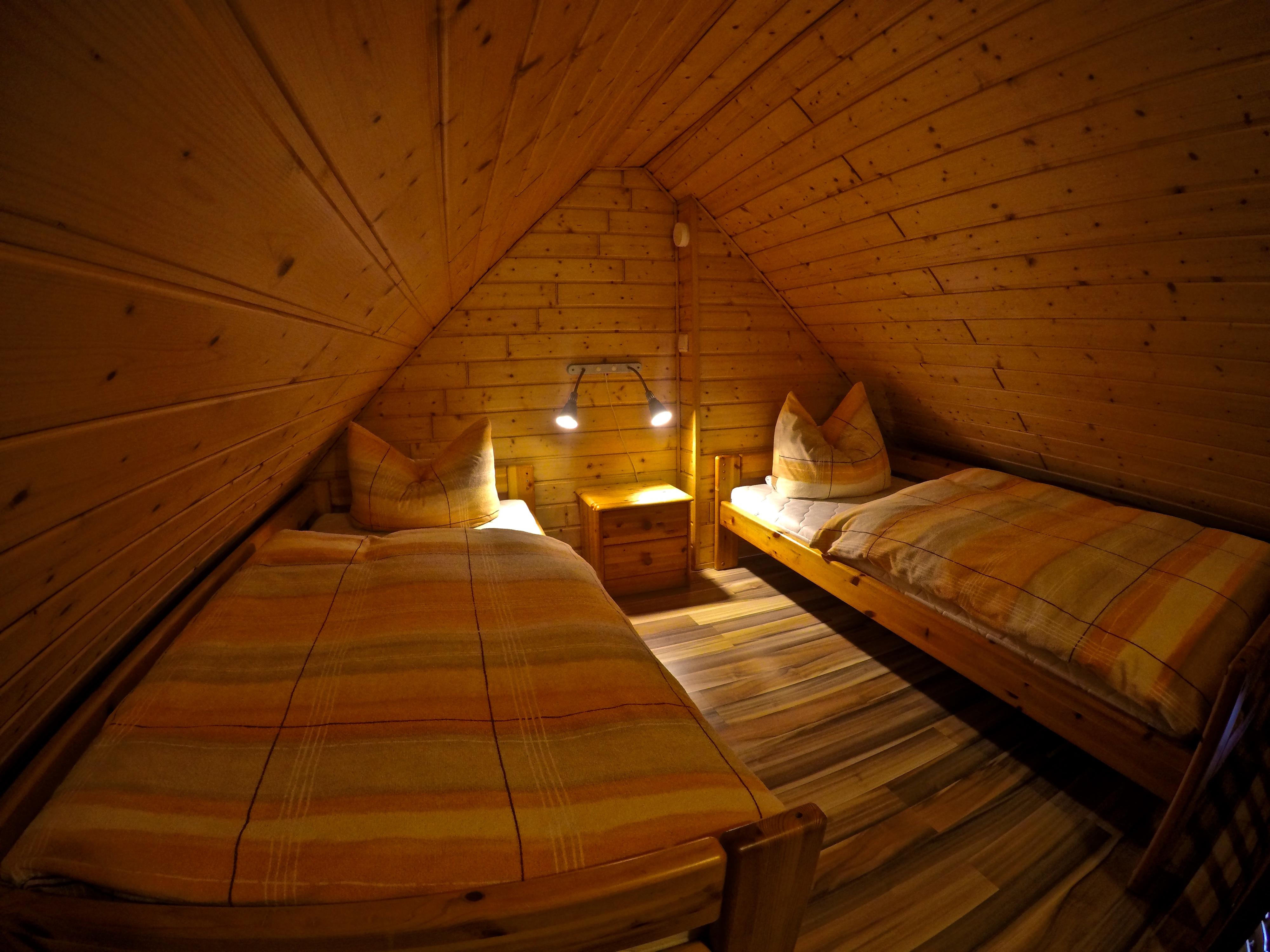 Schlafzimmer Dachspitze