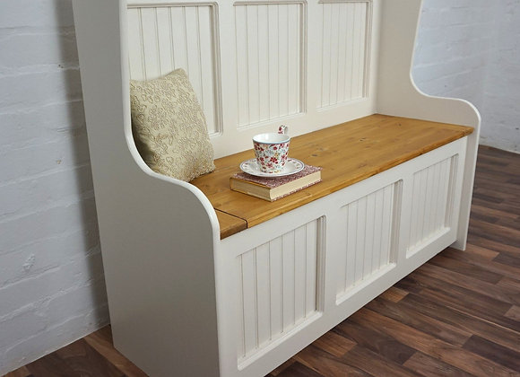 Solid Pine Monks Bench (Bespoke options)