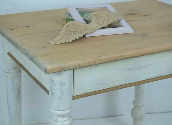 Antique pine painted kitchen/dining table