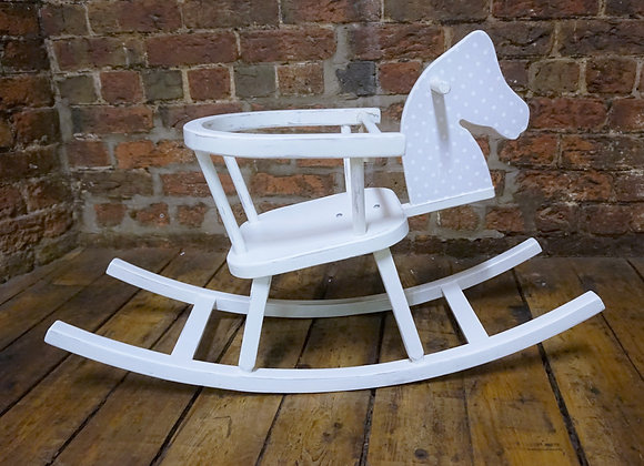 Vintage child's rocking horse chair