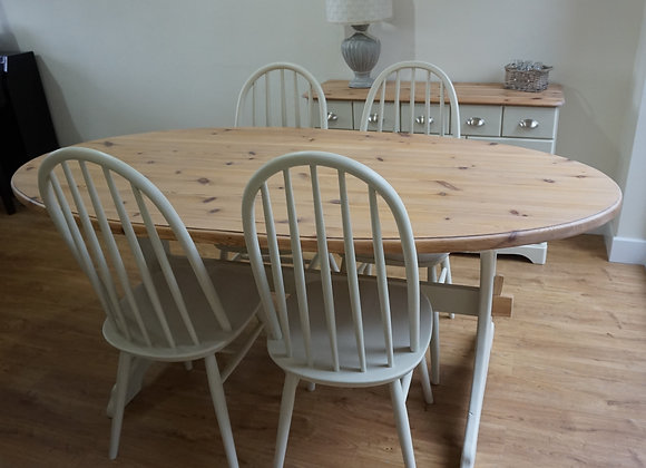 Farmhouse table and chair set SOLD