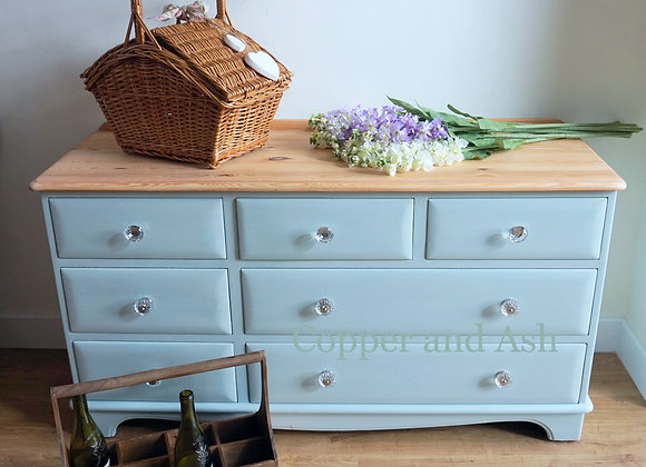 French farmhouse style sideboard/chest of drawers SOLD