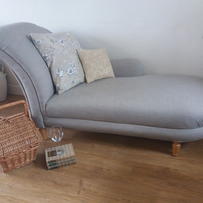 Chaise longue recovered
