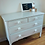 Thumbnail: Vintage solid oak handpainted drawers