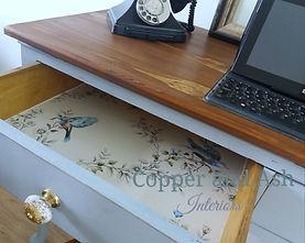 vintage desk_Copper and Ash