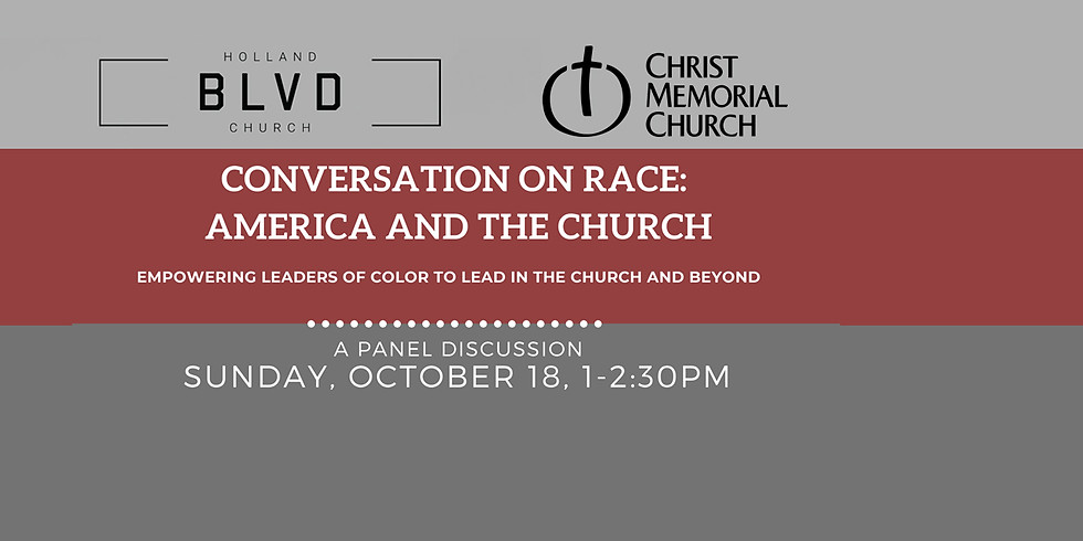 Conversation on Race: America and the Church