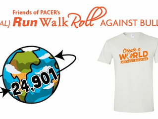 Friends of PACER's Virtual Run, Walk, Roll Against Bullying