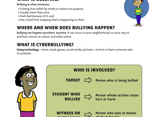 Bullying Prevention 101   Handout Series