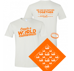 Support bullying prevention with purchase of event merchandise to create a world without bullying