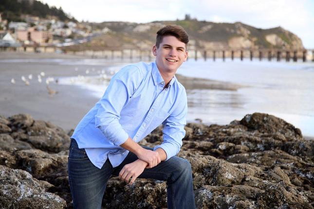 Senior Portrait at Central Coast