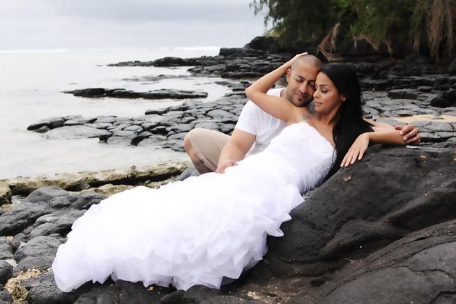 Beautiful Couple in Kauai, Hawaii