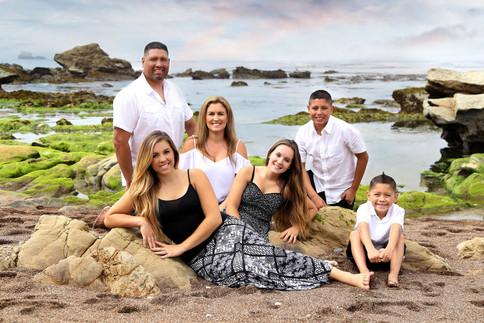 Central Coast Family Portrait
