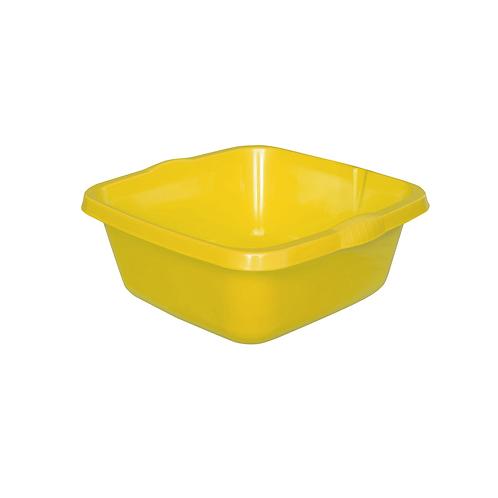 Miska Kwadratowa średnia żółta
