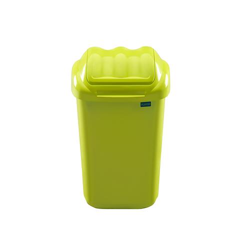 Kosz fala zielony15L