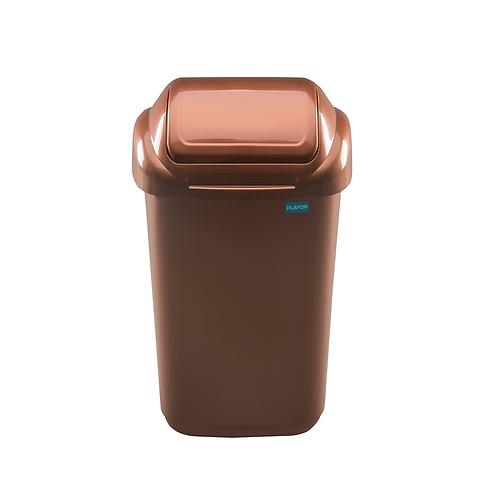 Kosz standard brązowy 15L