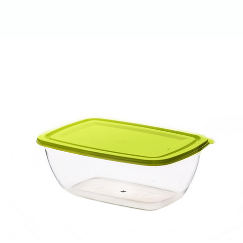 Justbox prostokątny zielony 2,3 L