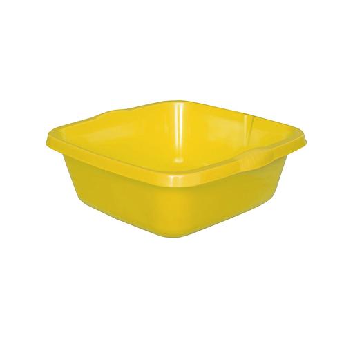 Miska Kwadratowa duża żółta