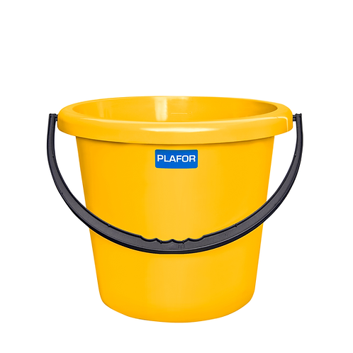 Wiadro żółte 12L