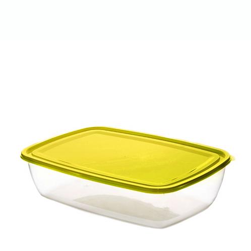 Justbox prostokątny płaski żółty 2,9 L