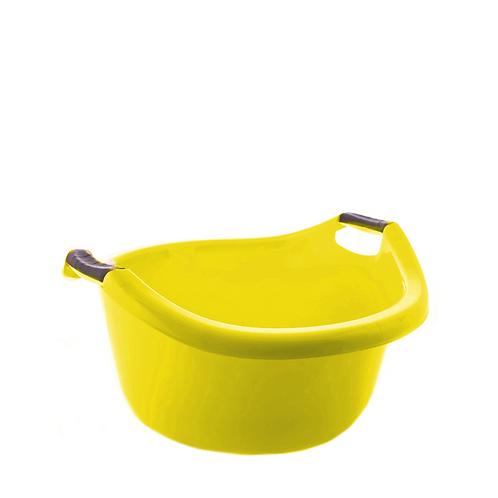 Miska z uchwytami 20L żółta