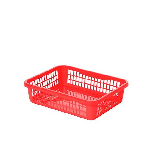 Koszyk A5 czerwony