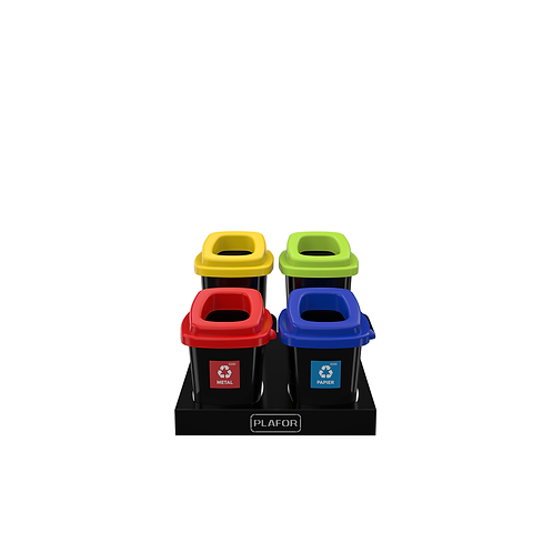 Zestaw do segregacji 2 x 28L 2 x 45L kolor