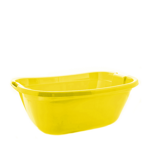 Miska prostokątna zółta