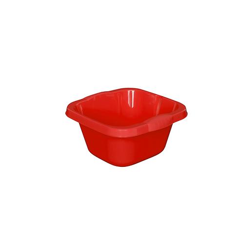 Miska Kwadratowa mała czerwona