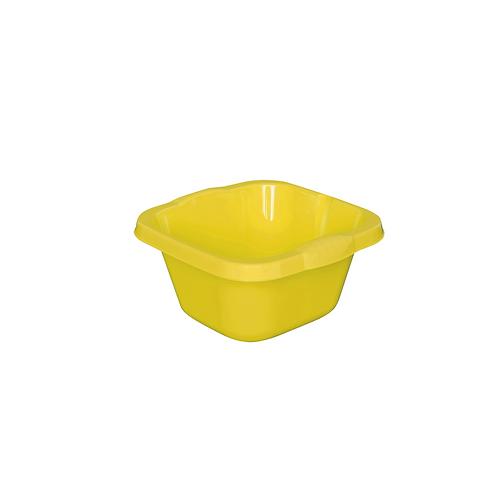 Miska Kwadratowa mała żółta