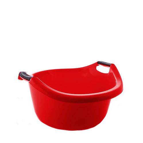 Miska z uchwytami 20L czerwona