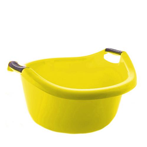 Miska z uchwytami 30L żółta