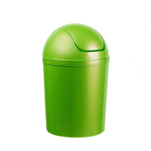 Uchylny z klapką zielony