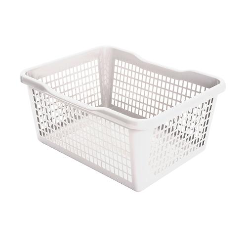 Koszyk biały 37L
