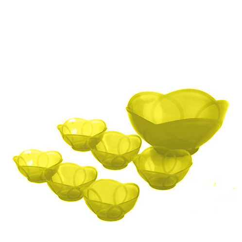 Komplet Salaterek Zółty