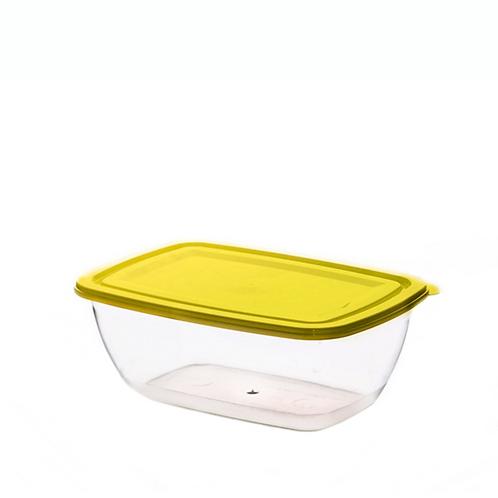 Justbox prostokątny żółty 2,3 L