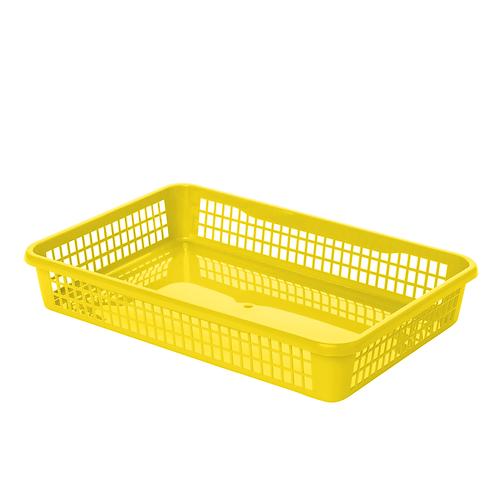 Koszyk A4 zółty