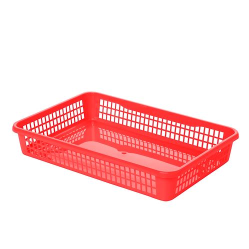 Koszyk A4 czerwony
