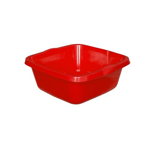 Miska Kwadratowa średnia czerwona
