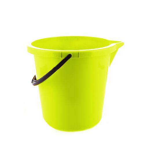 Wiadro z lejkiem zielone