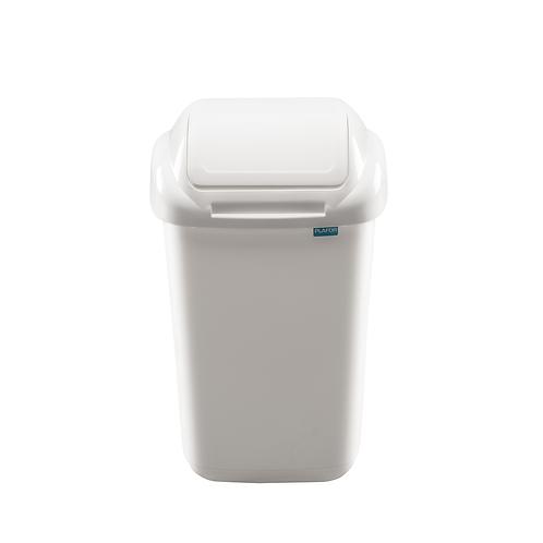 Kosz standard biały 15L