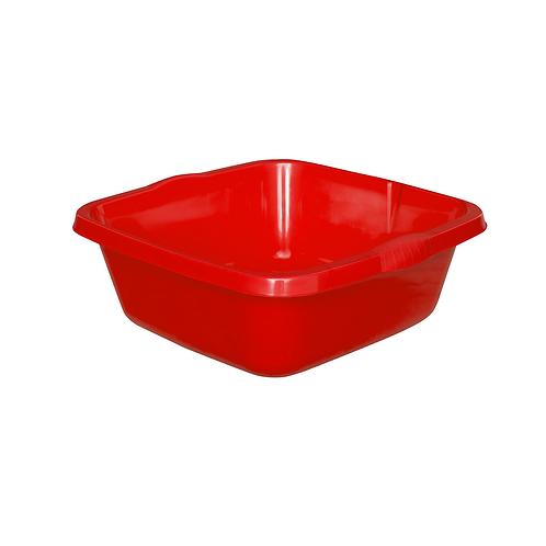 Miska Kwadratowa duża czerwona