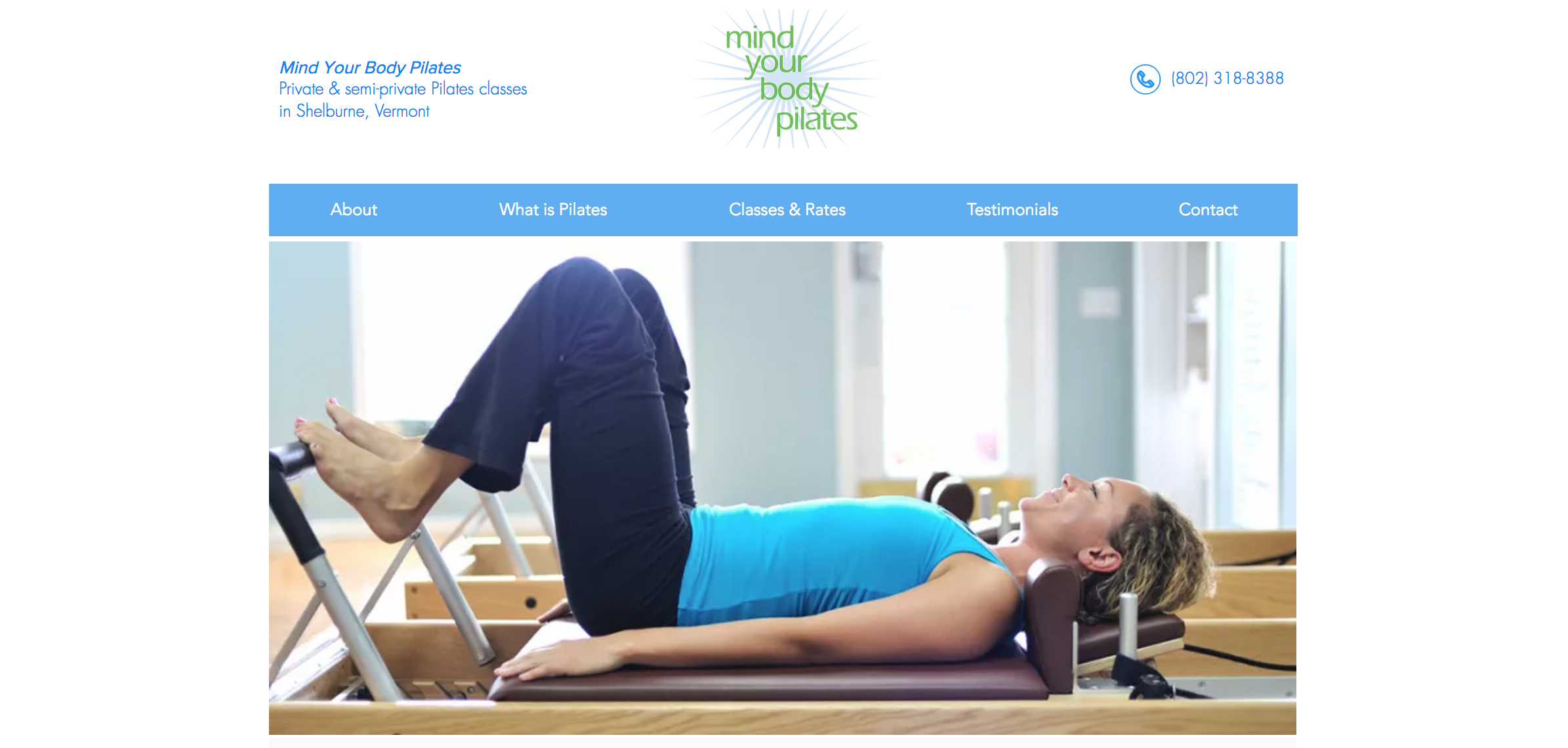 Mind Your Body Pilates | Pilates Classes in Shelburne, Vermont